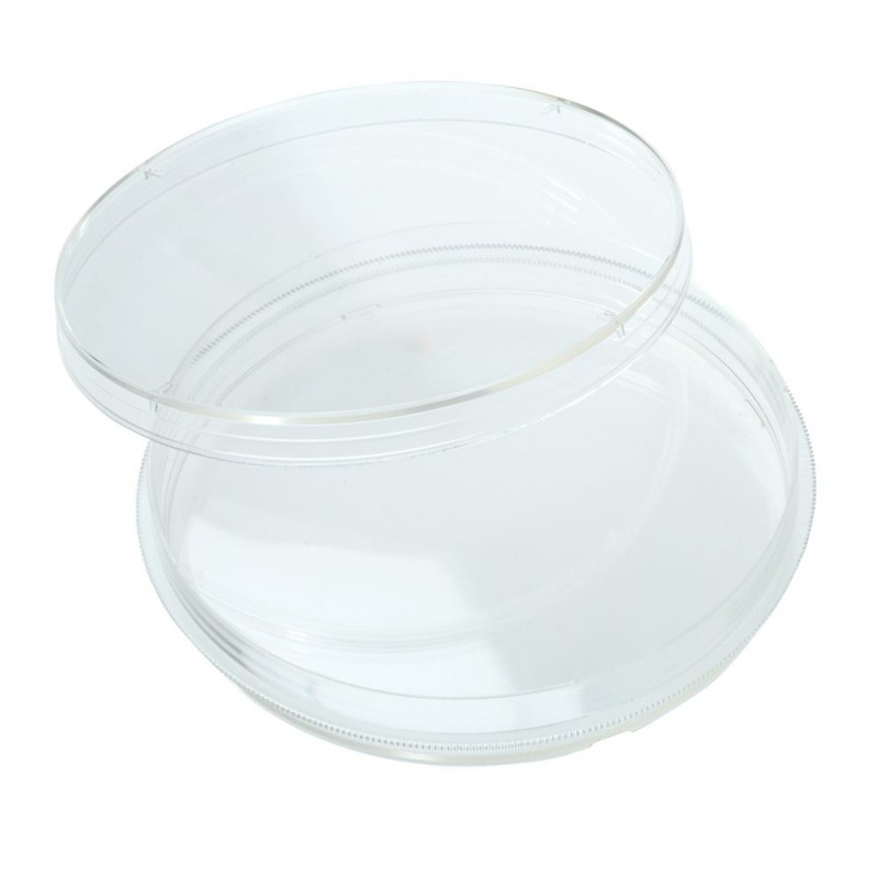 229695 CELLTREAT Petri Dish, 100 mm x 15 mm, Stackable, Sterile, 500 Dishes