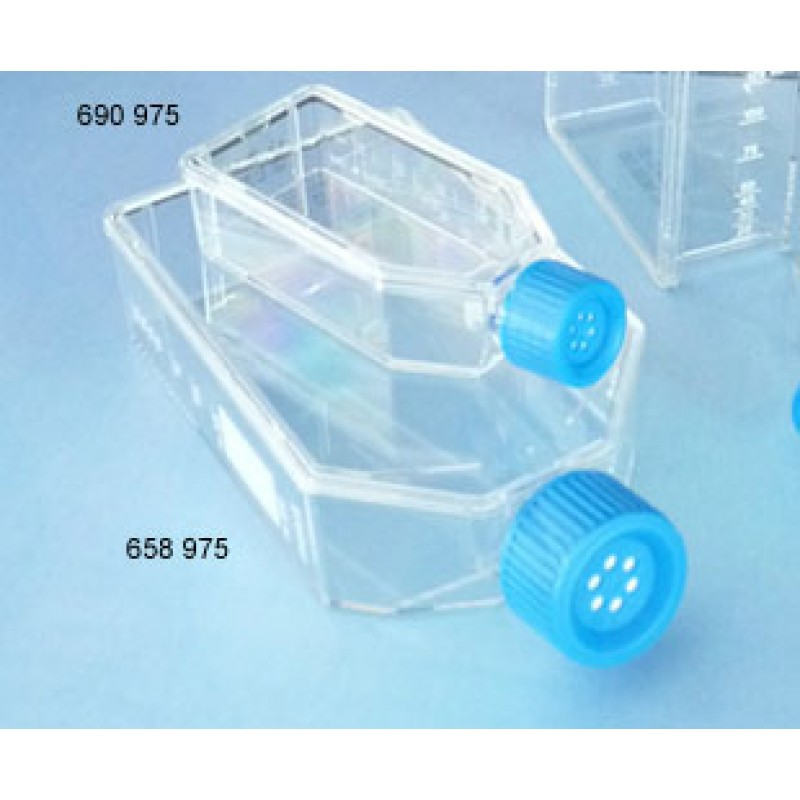 658975 Greiner Bio-One Advanced TC™ T75 Cell Culture Flask, Vent Cap, Sterile, 120 Flasks