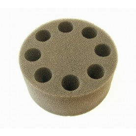 18900024 Scilogex Foam Tube Insert for Microplate Mixer, 20 mm Test Tubes