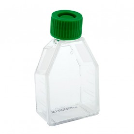 229320 CELLTREAT 12.5 cm² Tissue Culture Flask, Plug Seal Cap, Sterile, 200 Flasks