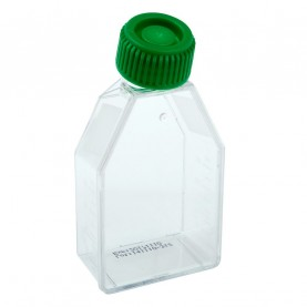 229330 CELLTREAT 25 cm² Tissue Culture Flask, Plug Seal Cap, Sterile, 200 Flasks
