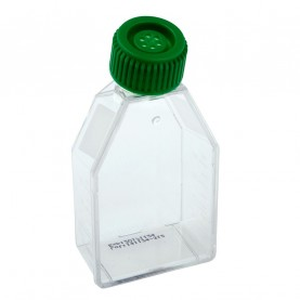 229331 CELLTREAT 25 cm² Tissue Culture Flask, Vent Cap, Sterile, 200 Flasks