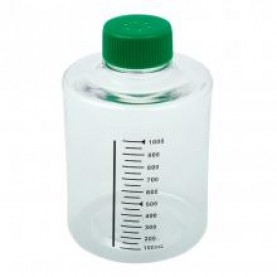 229383 CELLTREAT Roller Bottle, Tissue Culture, Sterile, 490 cm², 1 L, Vented Cap