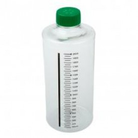 229385 CELLTREAT Roller Bottle, Tissue Culture, Sterile, 850 cm², 2 L, Vented Cap