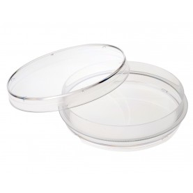 229623 CELLTREAT Non-Treated Cell Culture Dish, 100 mm x 20 mm, Stackable, Sterile, 300 Dishes