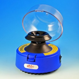545B-230 Globe Scientific Mini Centrifuge, Blue, 230V