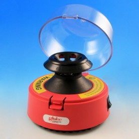 545R-230 Globe Scientific Mini Centrifuge, Red, 230V