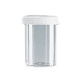 1105020 BrandTech Sample Cup Cap, Natural, Polyethylene, for use with Technicon 1.5 mL Sample Cup (Case of 1000)