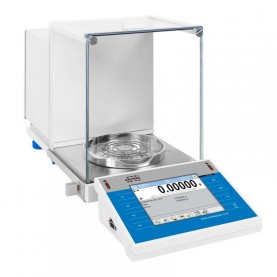 XA 82/220.4Y Analytical Balance, 82 g / 220 g Capacity, 0.01/0.1 mg Readability, 90 mm Pan Size, Radwag