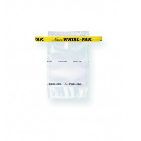 "B00736WA Nasco Whirl-Pak Standard Bag, Polyethylene, 4.5"" W   X   9"" L, Clear, 0.06 mm Thickness (Box of 500)"