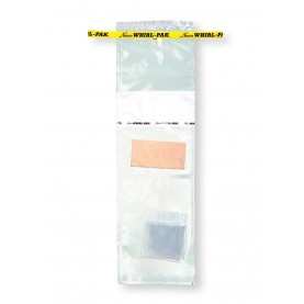 "B01392WA Nasco Whirl-Pak Speci - Sponge Environmental Surface Sampling Bag, Polyethylene, 4"" W  X  9"" L, Clear, 0.06 mm Thickness (Box of 100)"