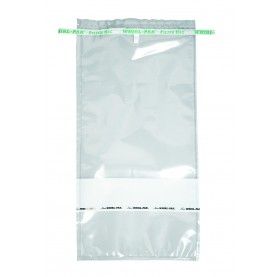 "B01416WA Nasco Whirl-Pak Homogenizer Blender Filter Bag, Polyethylene, 7.5"" W  X  15"" L, Clear, 0.10 mm Thickness (Box of 250)"