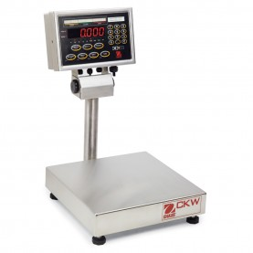 Ohaus CKW Checkweigher Bench Scales, 80251044, 60 lbs. x 0.01 lb., 305 mm x 305 mm