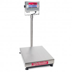 Ohaus Defender® 3000 Stainless Steel Bench Scales, 83999819, 132 lbs. x 0.02 lb., 550 mm x 420 mm