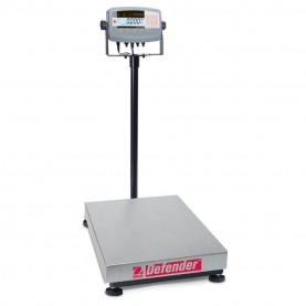Ohaus Defender® 7000 Washdown Bench Scales, 80501541, 500 lbs. x 0.05 lb., 610 mm x 610 mm