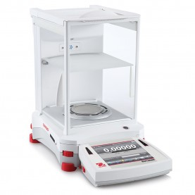Ohaus Explorer® Semi-Micro Analytical Balances, 30139512, 120 g/220 g x 0.01 mg;0.1 mg, 80 mm