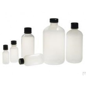 Qorpak PLA-03331 Boston Round Narrow Mouth Bottle, 30 mL,  LDPE, No Cap (Case of 1550 )