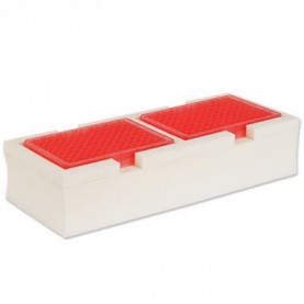 Scientific Industries SI-MX030 Microplate Mixer Accessories, Foam Microplate Insert for 2 Microplates
