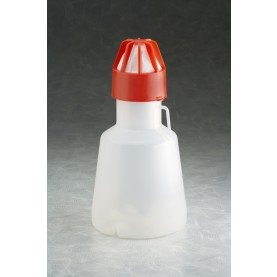 IBI Scientific SS-5013 Full Baffle Tunair Flask, 1 L, Polypropylene